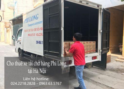Dịch vụ xe tải nhanh chóng tại phố Trung Kính