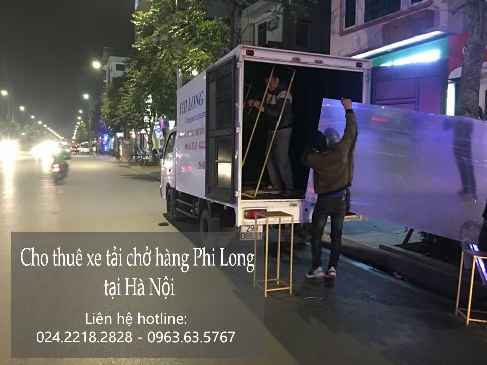 Dịch vụ xe tải vận chuyển tại phố Ngô Văn Sở