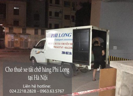 Dịch vụ xe tải tại phố Nguyễn Văn Trỗi