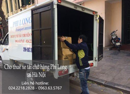 Dịch vụ xe tải vận chuyển tại phố Nguyễn Thượng Hiền