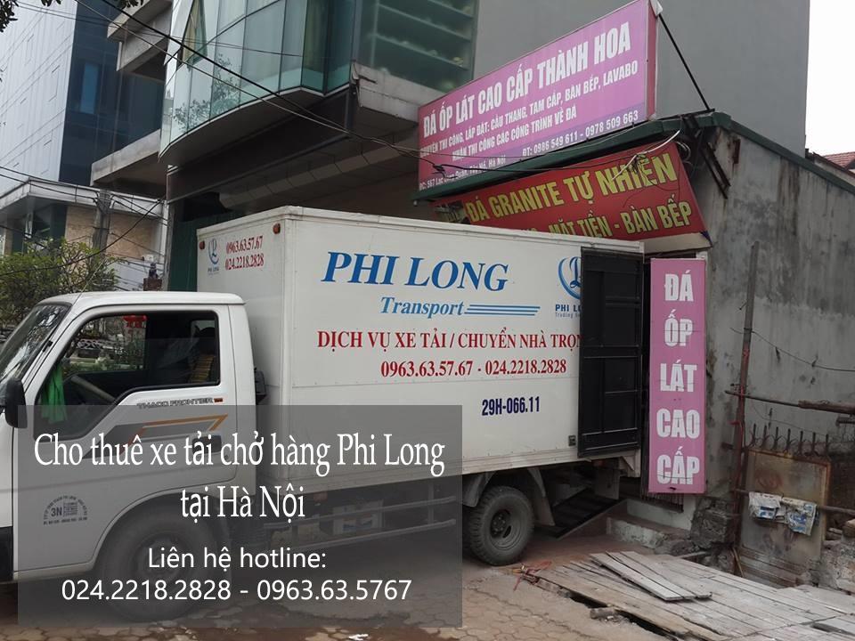 Dịch vụ xe tải vận chuyển hàng hóa tại phố Thanh Bình