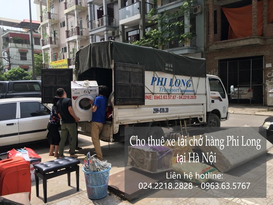 Dịch vụ thuê xe tải Phi Long tại phố Nguyễn Văn Ngọc