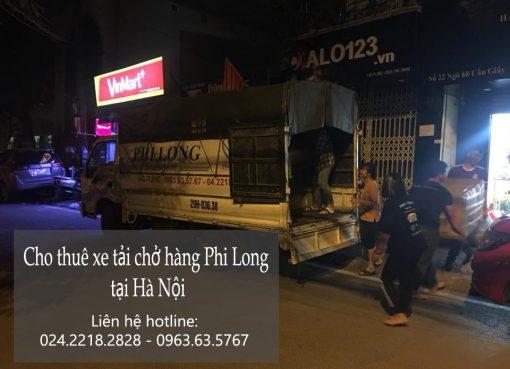 Xe tải chở hàng chuyên nghiệp tại phố Lê Lợi