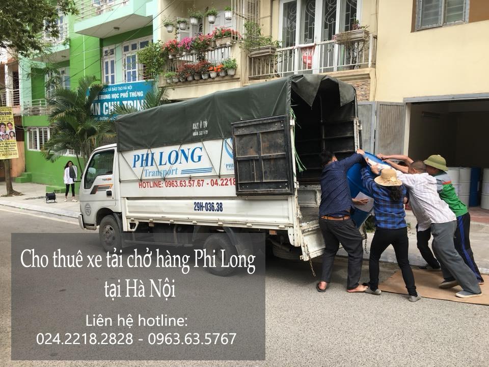 Dịch vụ xe tải cho thuê tại phố Vũ Phạm Hàm