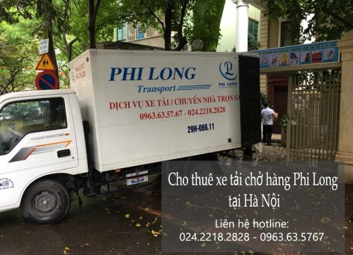 Dịch vụ xe tải chở hàng tại đường Giáp Bát
