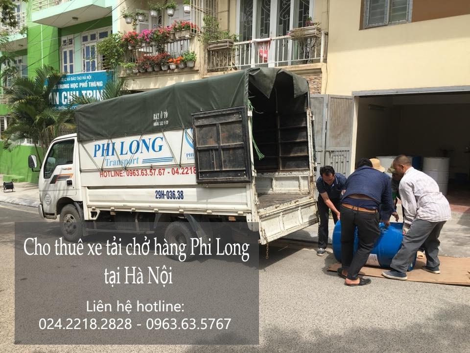 Dịch vụ xe tải Phi Long tại phố Lương Thế Vinh
