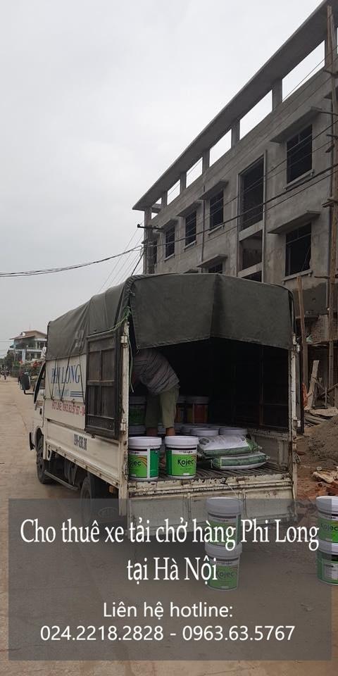 Dịch vụ xe tải Phi Long tại phố Nguyên Hồng