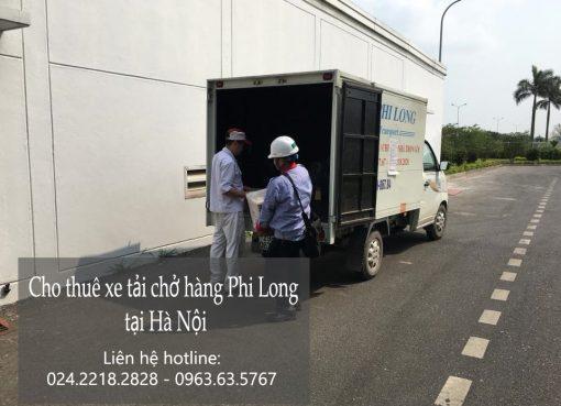 Dịch vụ xe tải chở hàng tại phố Phan Đình Giót