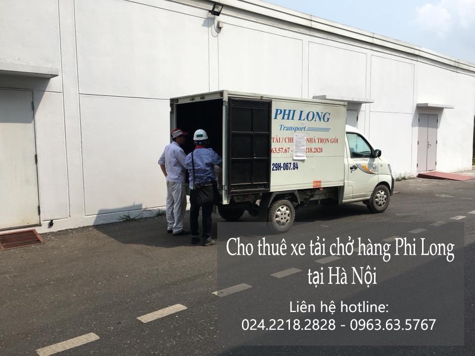 Dịch vụ xe tải Phi Long tại phố Nhân Hòa