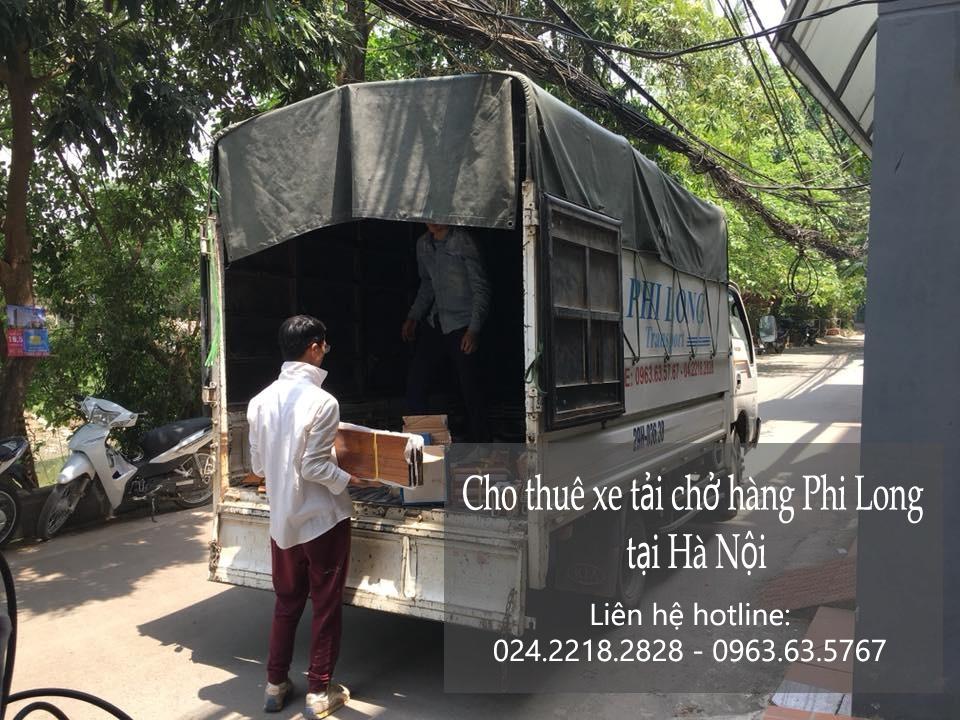 Dịch vụ xe tải chở hàng tại phố Trần Kim Xuyến