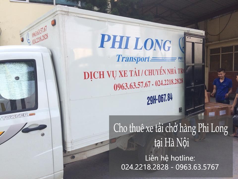 Dịch vụ xe tải Phi Long tại phố Dương Khuê