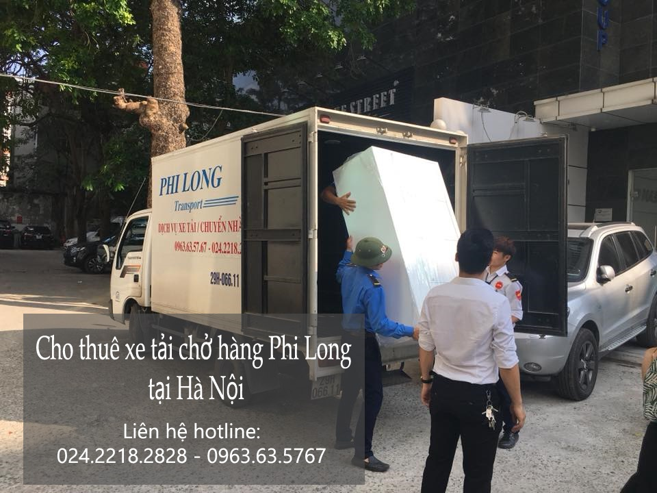 Dịch vụ xe tải cho thuê tại phố Trần Kim Chung