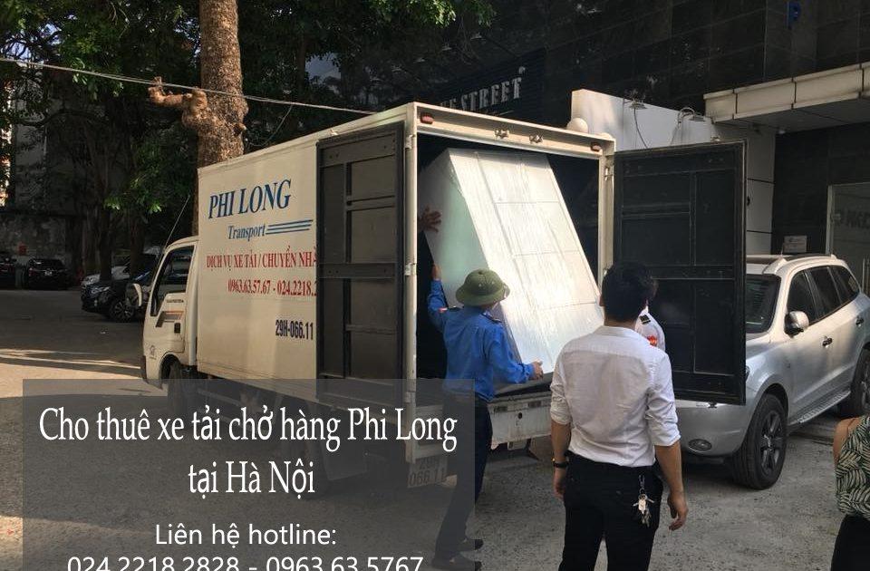 Taxi tải Hà Nội vận chuyển hàng tại phố Triệu Việt Vương