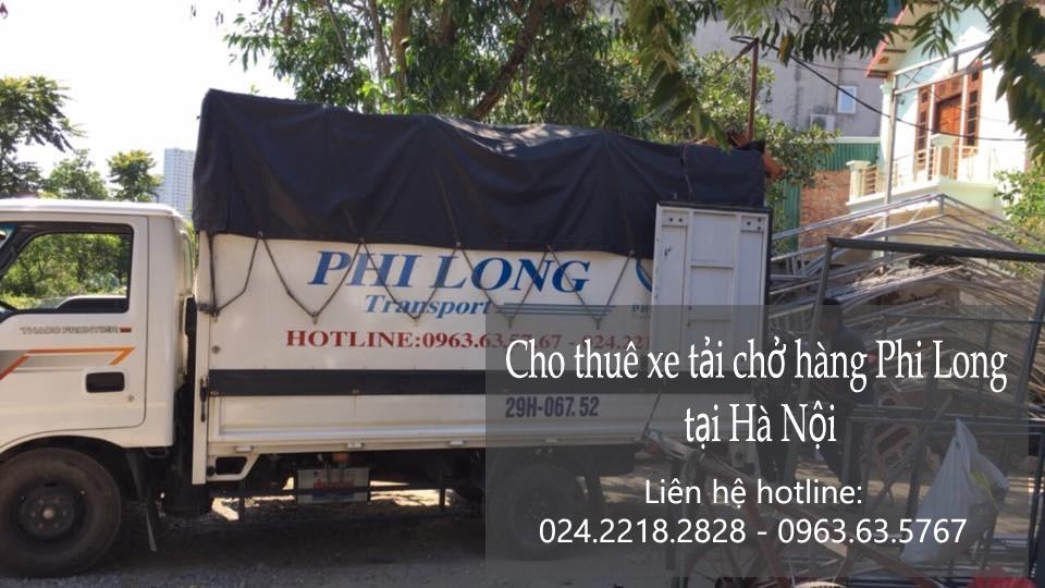 Dịch vụ xe tải chở hàng tại phố Nguyễn Công Trứ