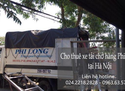 Thuê xe tải 1,25 tấn Phi Long tại phố Đại La