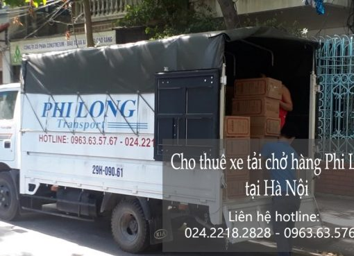 Cho thuê xe tải chở hàng Phi Long tại phố Hàng Chiếu