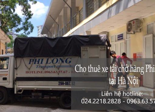 Cho thuê xe tải chở hàng tại phố Yên Ninh