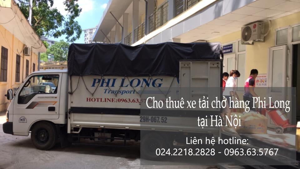 Dịch vụ chở hàng thuê tại phố Nghĩa Dũng