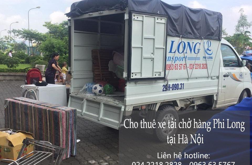 Dịch vụ xe tải chở hàng tại phố Nguyễn Siêu
