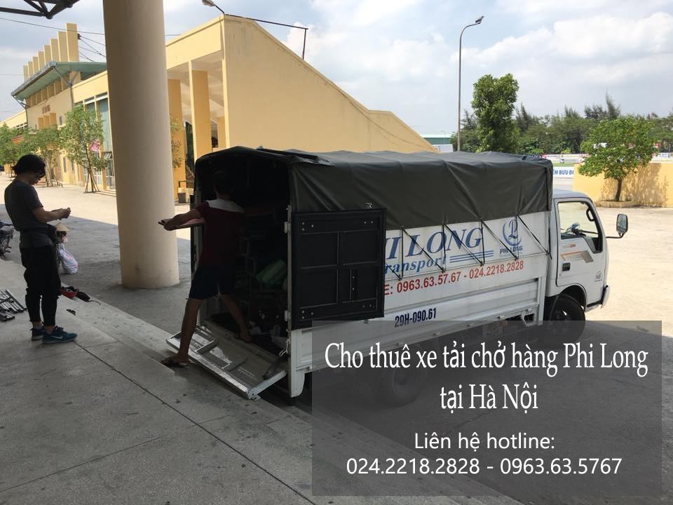 Dịch vụ xe tải chở hàng tại phố Mai Hắc Đế