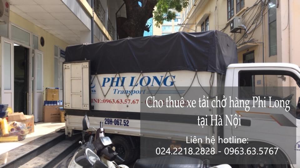 Dịch vụ xe tải Phi Long tại phố Đồng Bông
