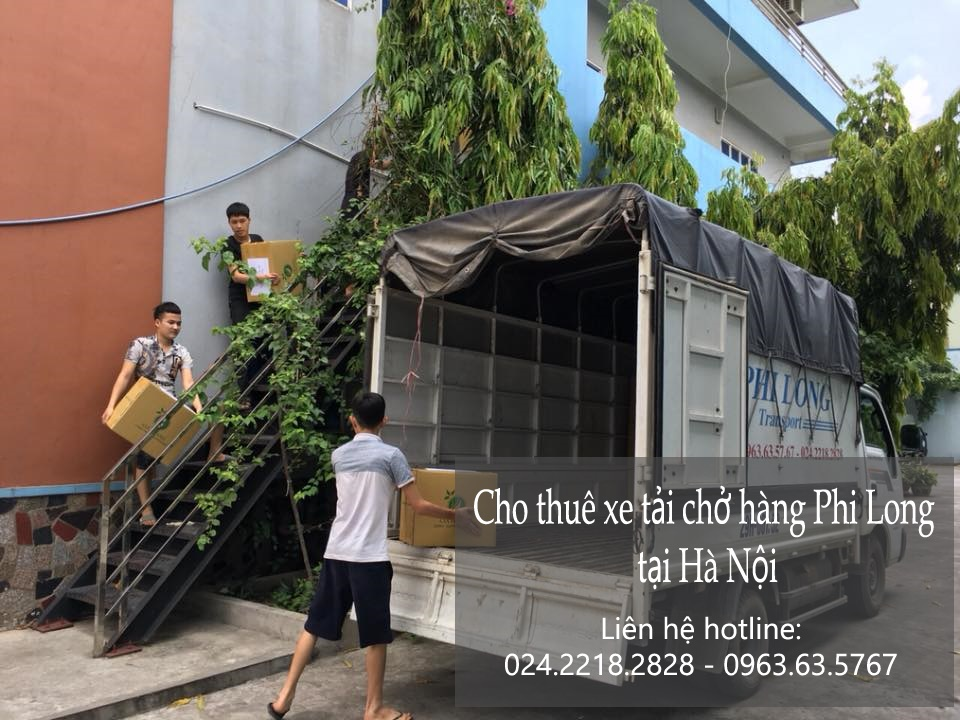 Xe tải chuyển nhà giá rẻ tại phố Ngô Thì Nhậm