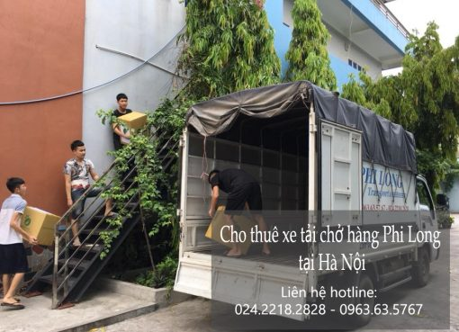 Dịch vụ thuê xe tải chuyên nghiệp tại phố Nguyễn Đình Chiểu