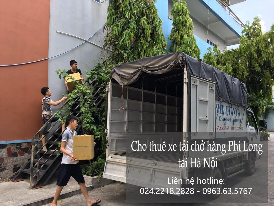 Thuê xe chuyển nhà giá rẻ tại phố Tô Tiến Thành
