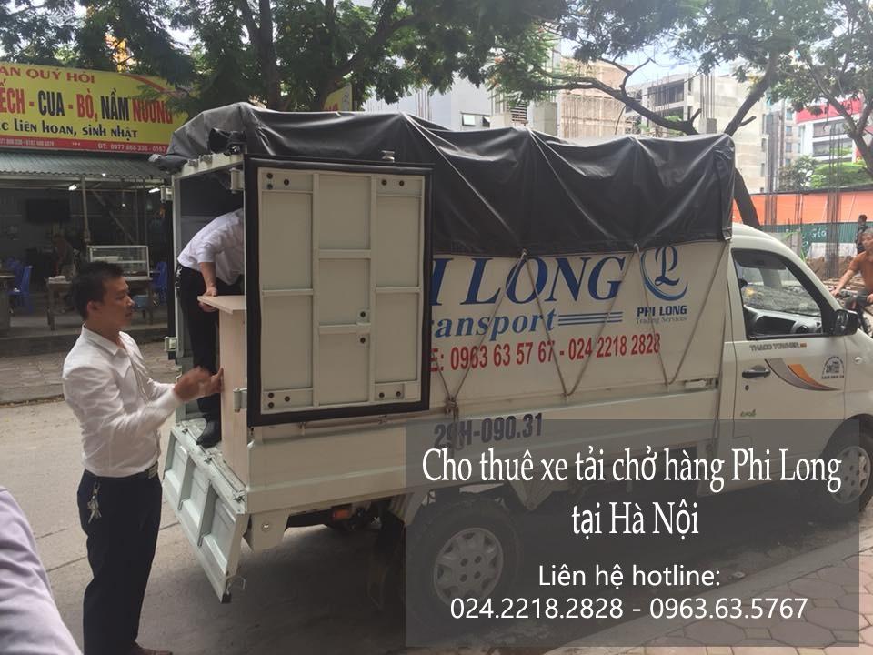 Dịch vụ xe tải vận chuyển tại phố Đoàn Trần Nghiệp