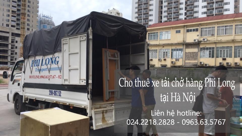 Dịch vụ xe tải vận chuyển tại phố Nguyễn Duy Dương