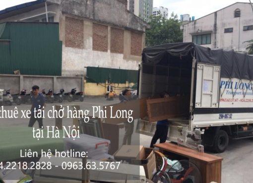 Dịch vụ xe tải chuyển nhà tại phố Phan Chu Trinh