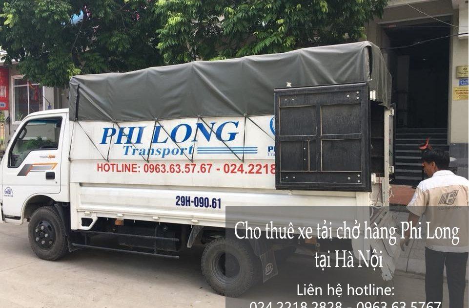 Dịch vụ xe tải giá rẻ tại đường Chiến Thắng