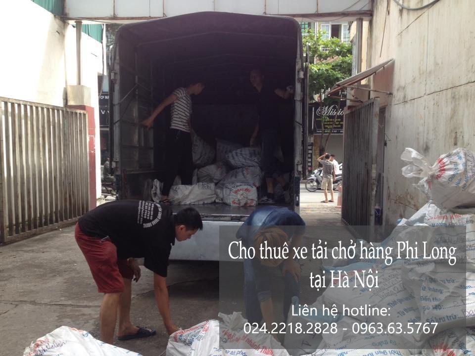 Dịch vụ xe tải tại phố Giang Văn Minh