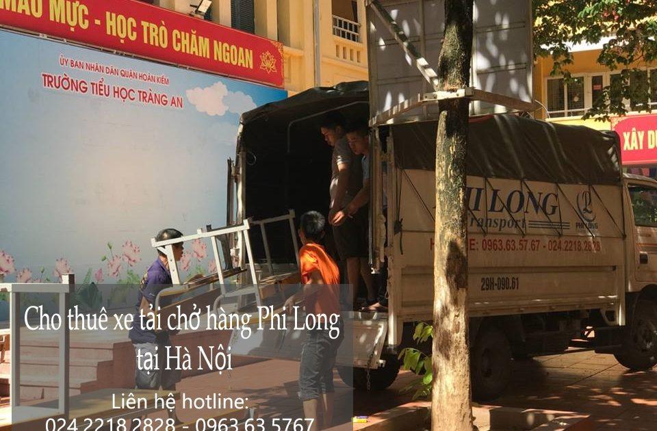 Dịch vụ xe tải tại phố Hàng Hòm