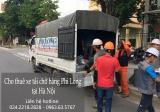 Dịch vụ xe tải vận chuyển tại phố Nguyễn Cơ Thạch