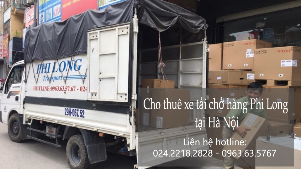 Dịch vụ xe tải tại phố Hàng Trống