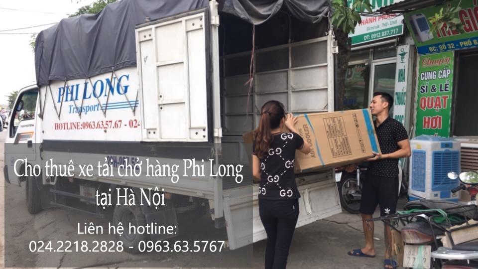 Dịch vụ xe tải tại phố Hàng Vôi