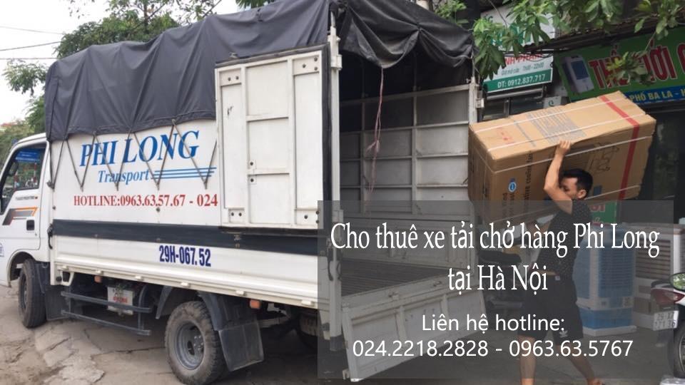 Dịch vụ xe tải tại phố Trường Lâm