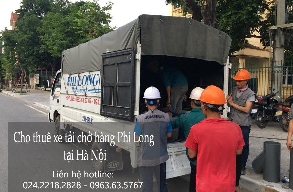 Dịch vụ xe tải tại phố Gầm Cầu