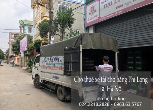 Dịch vụ xe tải vận chuyển tại phố Mai Động