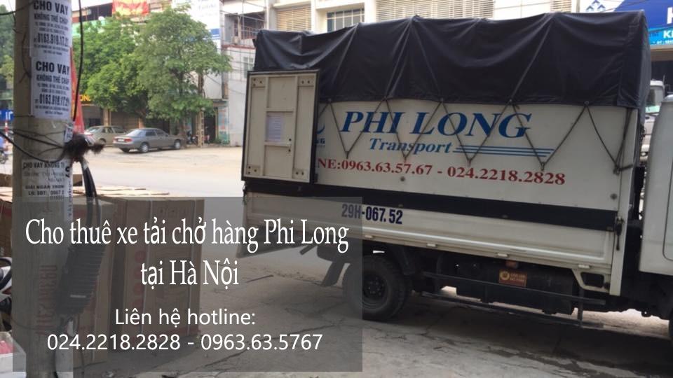 Dịch vụ xe tải chở hàng thuê tại phố Thượng Đình