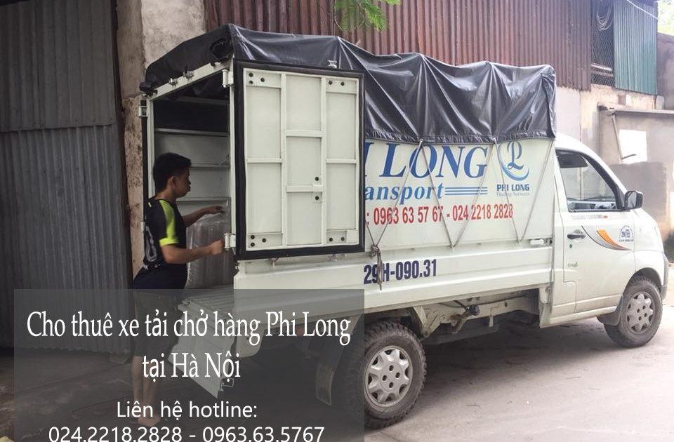 Dịch vụ xe tải giá rẻ tại phố Vũ Hữu