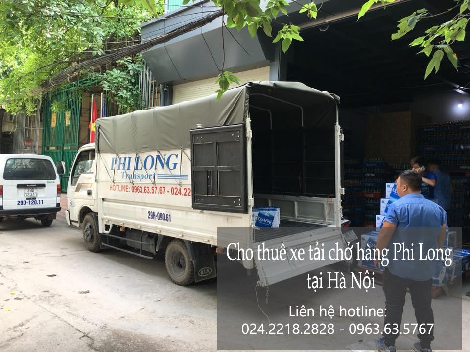 Dịch vụ cho thuê xe tải tại phố Nguyễn Du