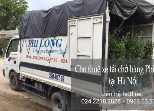 Dịch vụ xe tải chở hàng tại phố Khâm Thiên