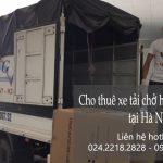 Dịch vụ xe tải vận chuyển tại phố Phan Văn Đáng