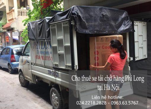 Dịch vụ xe tải vận chuyển tại phố Thiền Quang