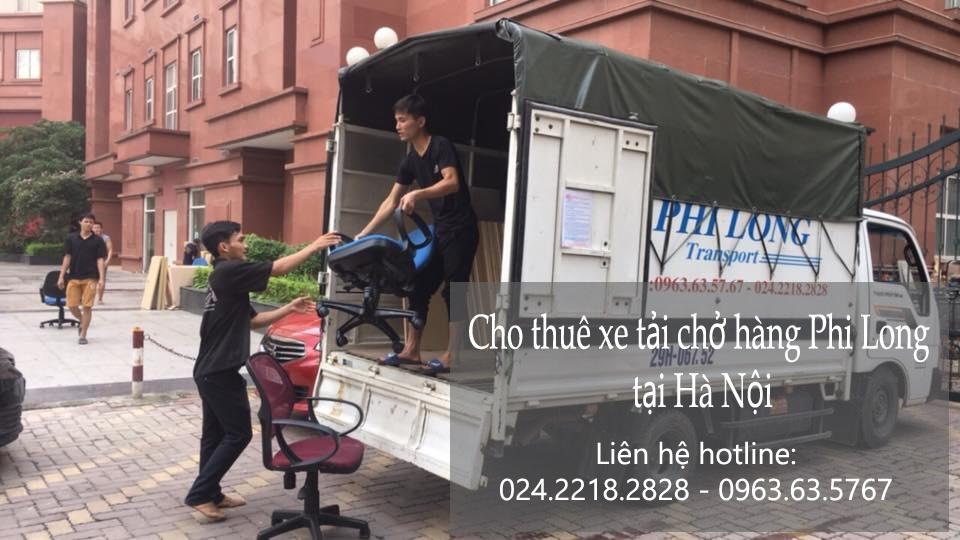 Dịch vụ xe tải chở hàng thuê tại phố Lãng Yên