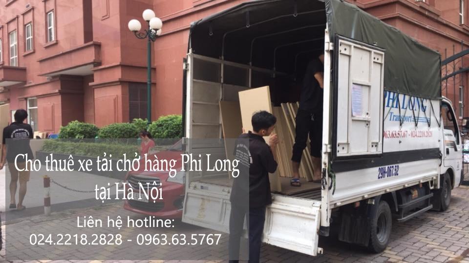 Dịch vụ xe tải chuyển nhà tại phố Bảo Linh