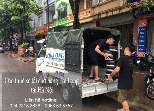 Dịch vụ xe tải vận chuyển tại đường Quang Tiến