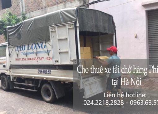 Dịch vụ xe tải tại phố Cát Linh